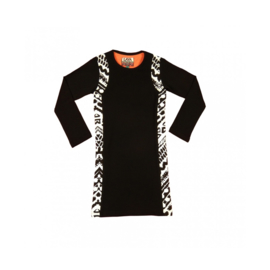 01 LavaLava jurk Acapulco zwart-wit18-213