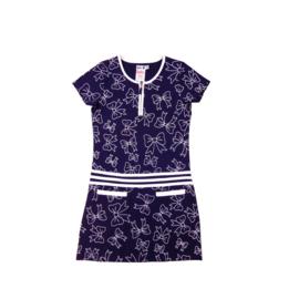 00001 LoFff jurk favourite- blauw Z8124-02