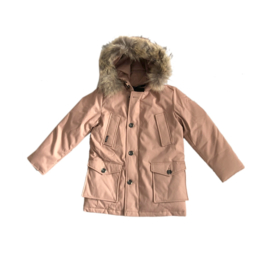 01  Airforce winterjas parka hr72m0075 RF Tawny Brown maat 128-134