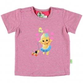 XS Feet roze/grijs T54X4 shirt