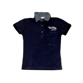 01  Two Play polo blauw maat 92-98
