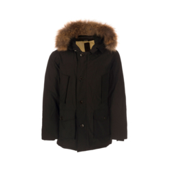 1 Airforce heren parka M0015 RF zwart