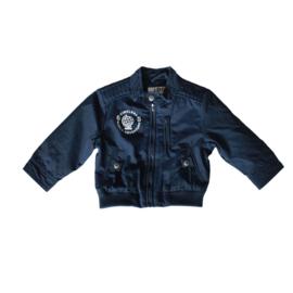 0001 Ido zomerjas  blauw  maat 68