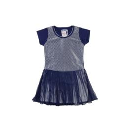 0009 LoFff festive jurk korte mouw Z7903-02A