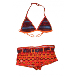01 Zee&Zo Bikini Grace Bay Ikat Red
