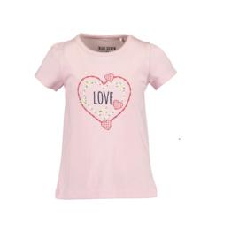 00001 Blue Seven shirt roze 702203
