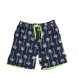 001 Far Out zwemshort 719214 blauw-geel wit palm