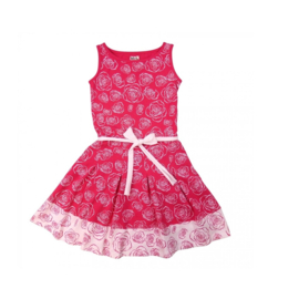 00002  LoFff jurk -roze Z8107-02