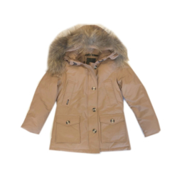 013 Airforce  parka jas light brown hR72W0106 maat 122-128