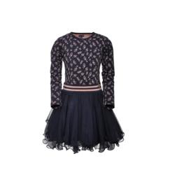 000011 LoFff  jurk Dance Grazia blue Z8476-35