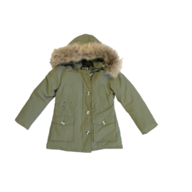 013 Airforce  parka jas green hR72W maat 122
