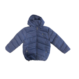 0016 Far out jongens winterjas  blauw maat 128