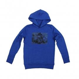 001 Blue Star Jeanshoodie blauw BS10 maat 116 voordeel
