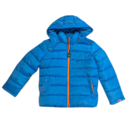 0001 Far out jongens winterjas blauw model maat 92-98
