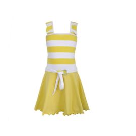 00001 LoFff jurk geel  Z8551-12