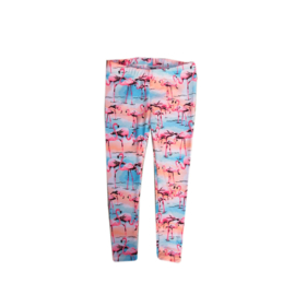 0014 Far out legging flamingo