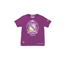 00016 Airforce shirt paars 5142 maat S, voordeel