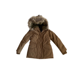 001 Airforce  parka jas coffee HR72W0138 maat 128-134