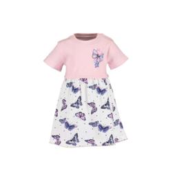 00001 Blue Seven jurk roze 911041