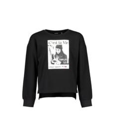 00002 Blue Seven sweater zwart 570084
