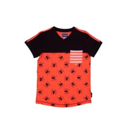 00001  Legends22 Shirt Sylvester orange-grey 20-304