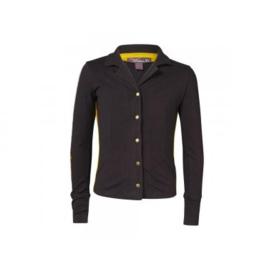 04 Ninni Vi shirt -Black- NVFW17-08