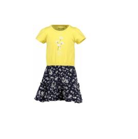 00001 Blue Seven jurk geel 721592
