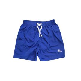 Just Beach Coconut Blue board short