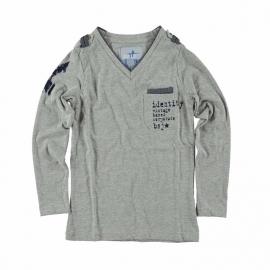 0001 Blue Star Jeans longsleeve grijs BS211 maat 128