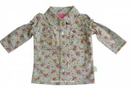 10 XS Feet T18 grijze/hyacint blouse