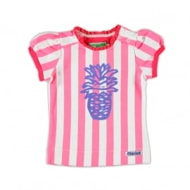 Little feet gestreept shirtje T43B4
