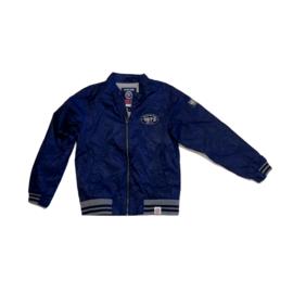 01 Mees zomerjas blauw maat 140