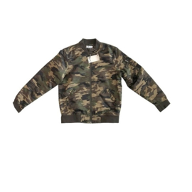 01 DEX zomerjas camouflage print maat 8 (122-128)