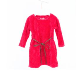 01 Mim-Pi 694 jurk roze/rood