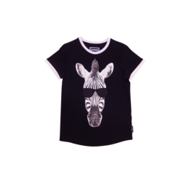 00015  Legends22 Shirt zebra black 20-392