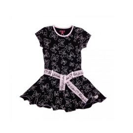 000030 LoFff jurk - zwart Z8117-01A