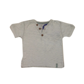 0001 Little Label shirt grijs maat 74-80