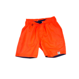 001 Far Out zwemshort oranje  maat 140