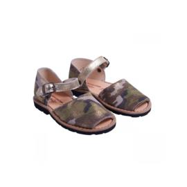 001 Minorquines sandalen camu maat 28