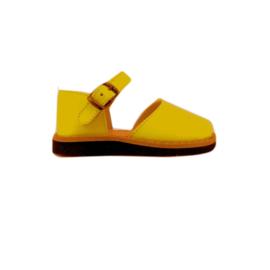 Minorquines sandalen safraan maat 27