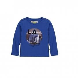00 Bomba blauw LA T-shirt B15-239 maat 122