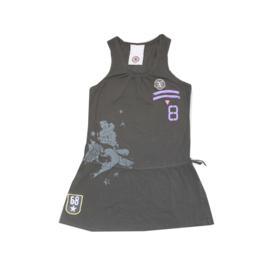 0001 Airforce zomer jurk donker grijs maat S