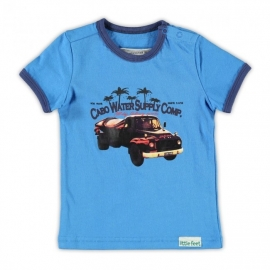 001 Little Feet shirt Sky Blue T03B4 maat 80