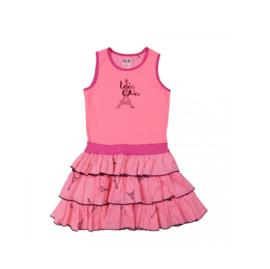 000019 LoFff jurk -  roze - Z8105-01