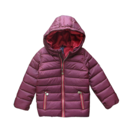 0001 Far out meiden winterjas Bordeaux model Hippo