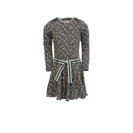 000014 LoFff  jurk Joanneke Grijs-blauw Z8407-70