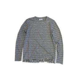7 Dex trui grijs getreept maat 152