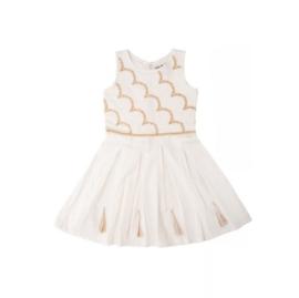 LoFff Festive jurk -wit- Z7962-01