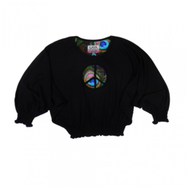 0101 LavaLava shirt superwoman Black  18-273