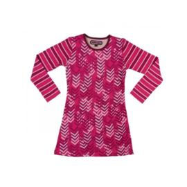 0001 HappyNr1 jurk roze Hp-17-114